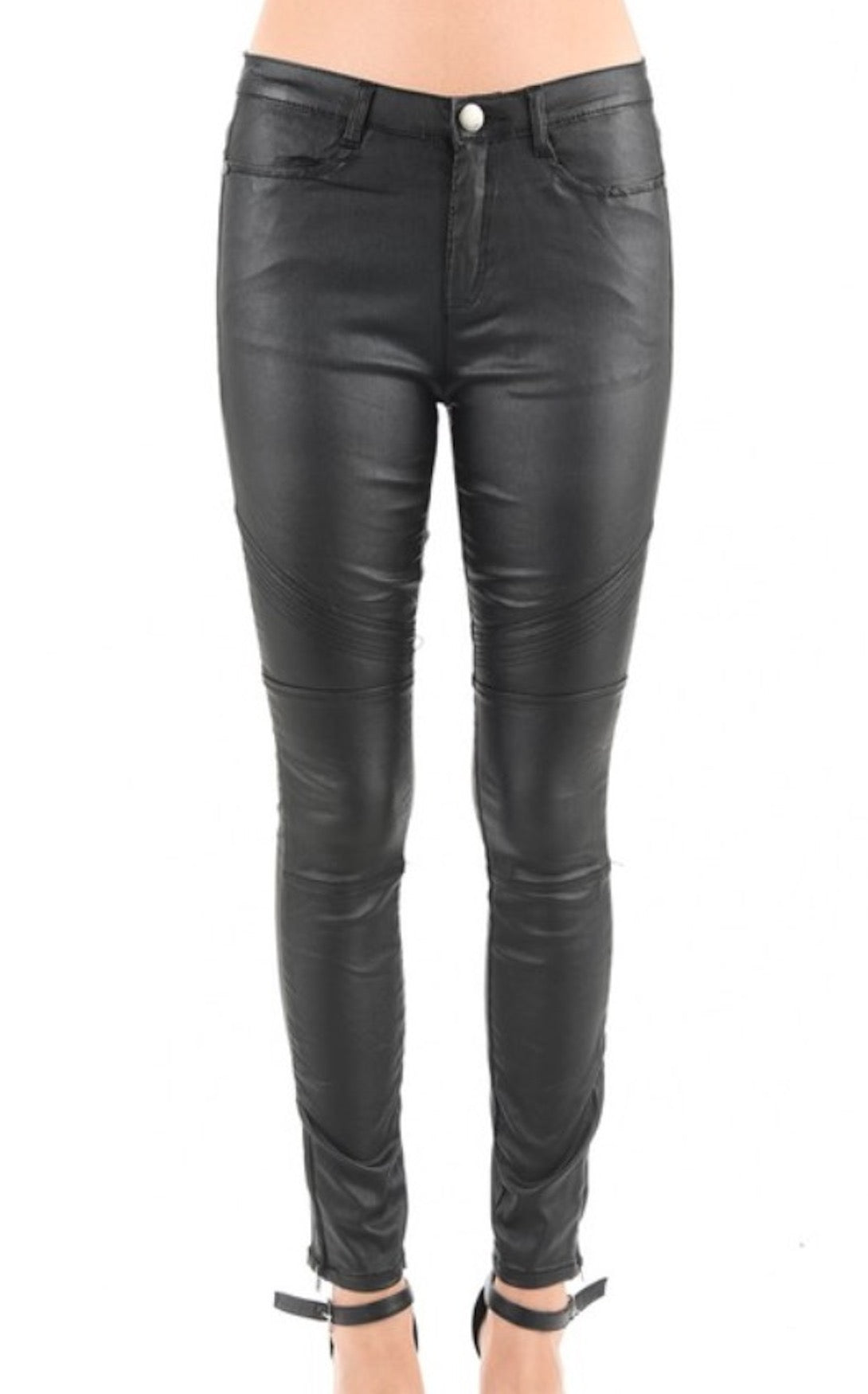 LA VELLA LEATHERETTE PANTS