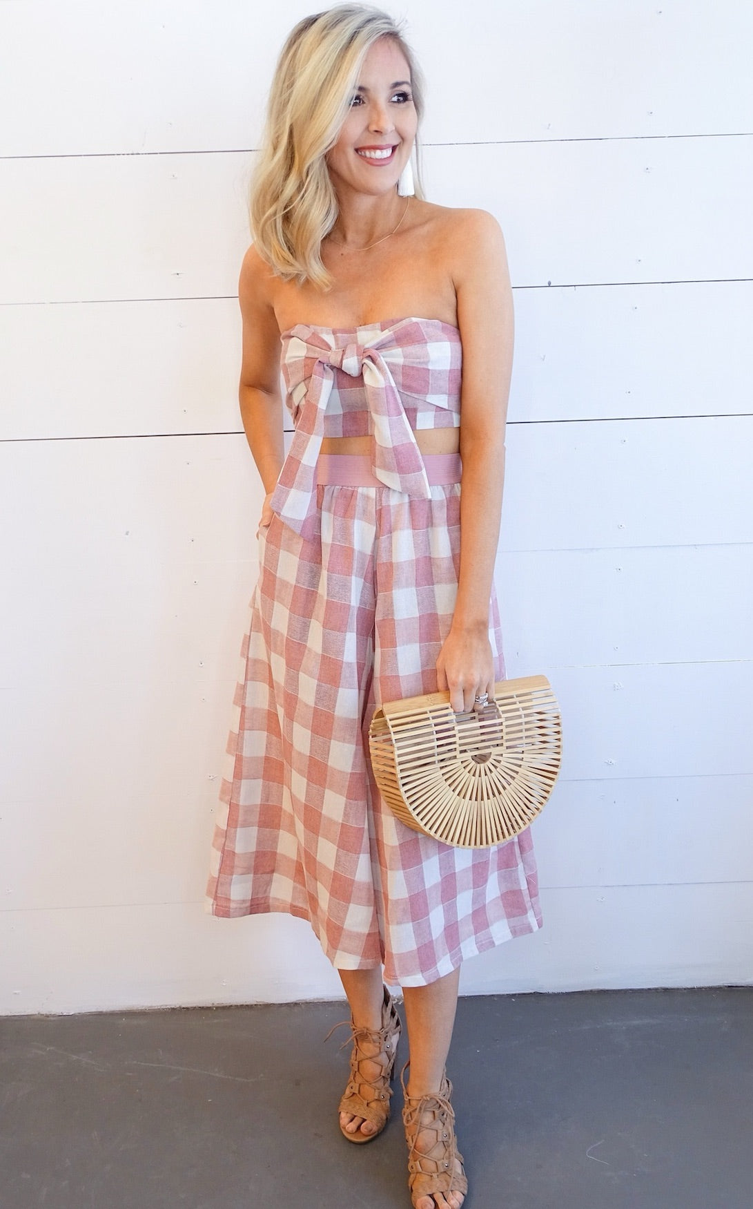 DENIA GINGHAM SET