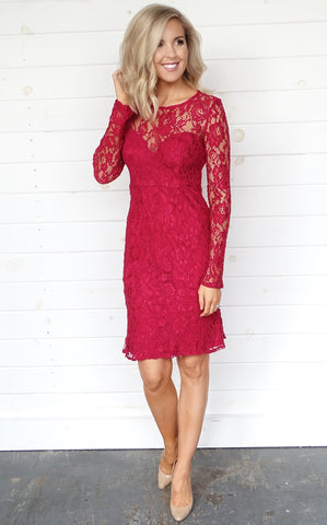 JADIN LACE DRESS