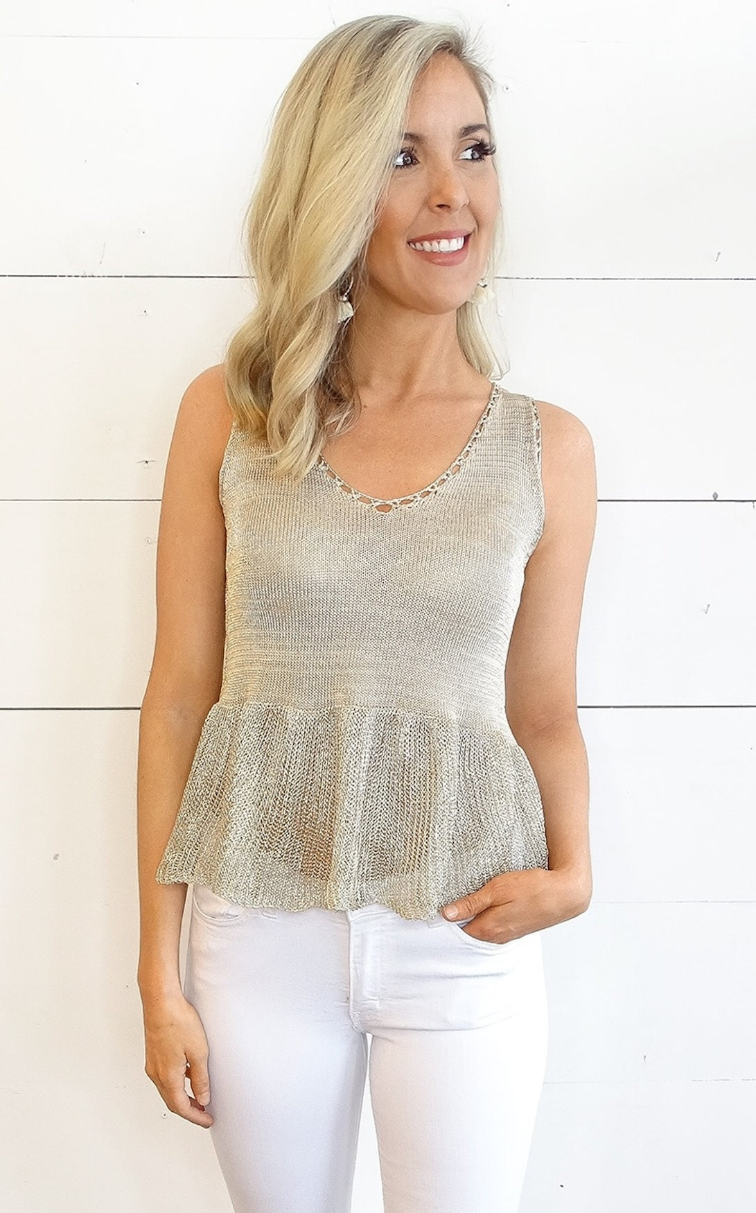LAYLAH GOLD KNIT