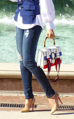 GRETCHEN CROSSBODY - WHITE