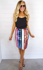 DARLING SEQUIN SKIRT