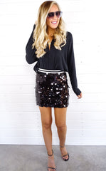 CITY SEQUIN MINI