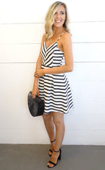 Lacey Stripe Dress