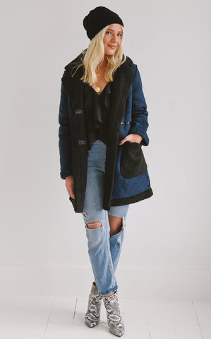 CLEMENT SHEARLING COAT