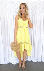 ELLIE DRESS - YELLOW