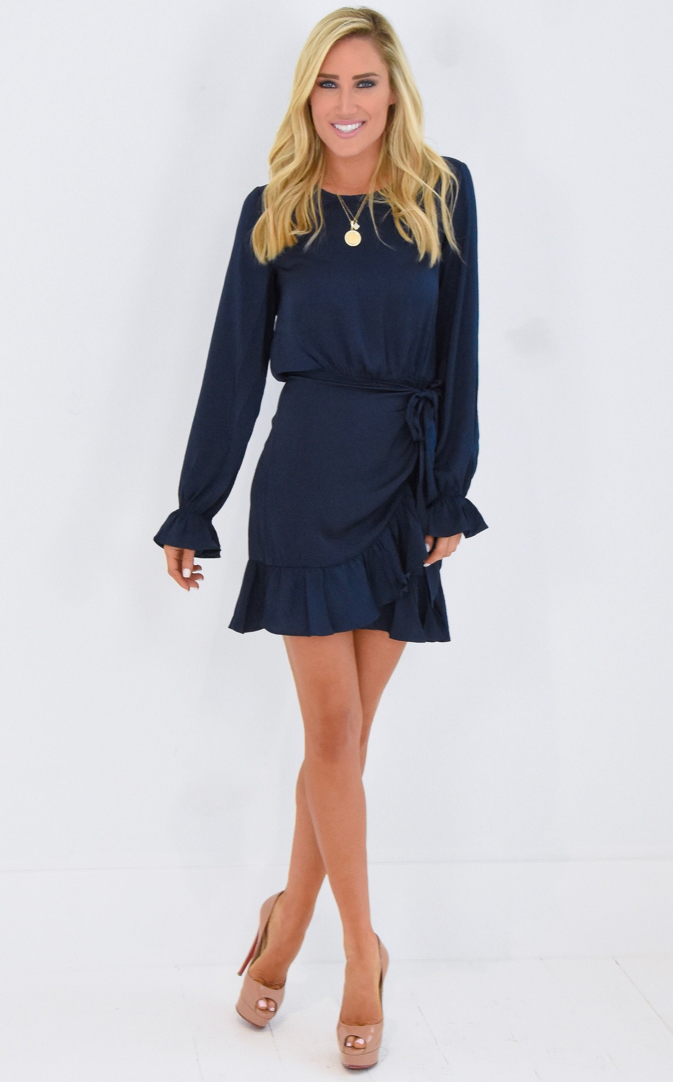 TEGAN WRAP DRESS