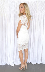 LESLIE LACE DRESS
