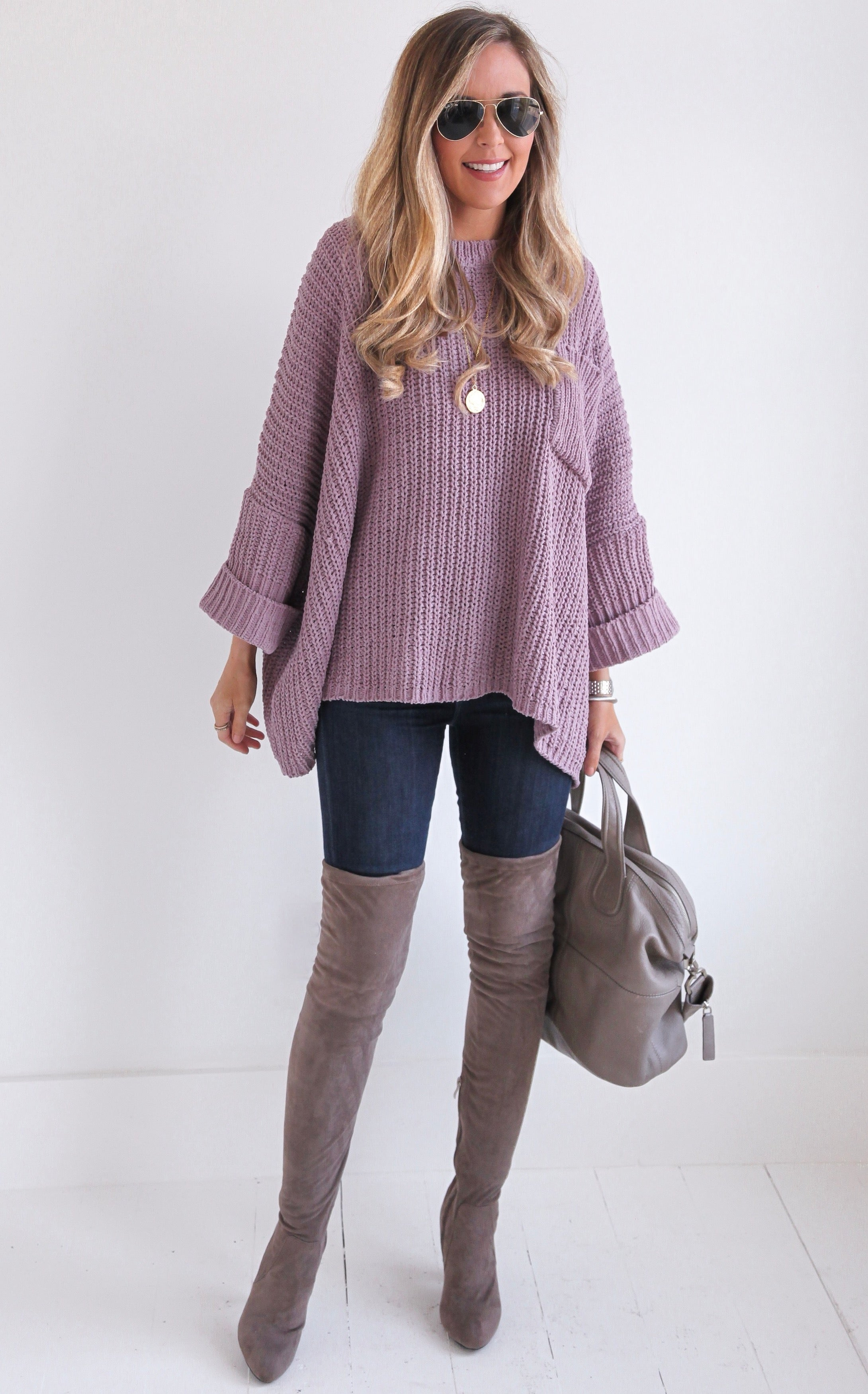 GRACIE OVERSIZED KNIT