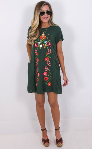 HARLYN EMBROIDERED DRESS