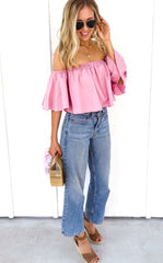 CARA SWING TOP - ROSE