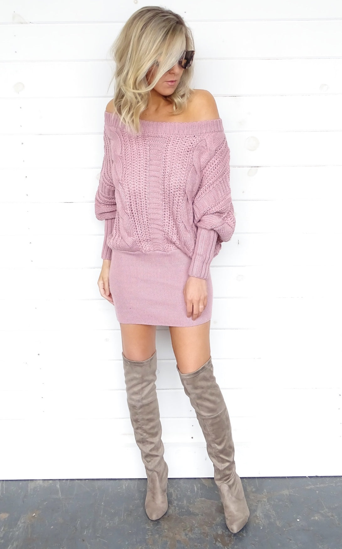 MAREE SWEATER DRESS