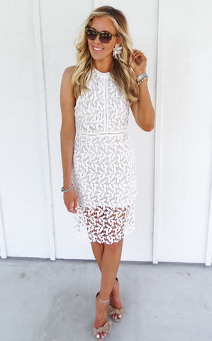 OLENA LACE DRESS
