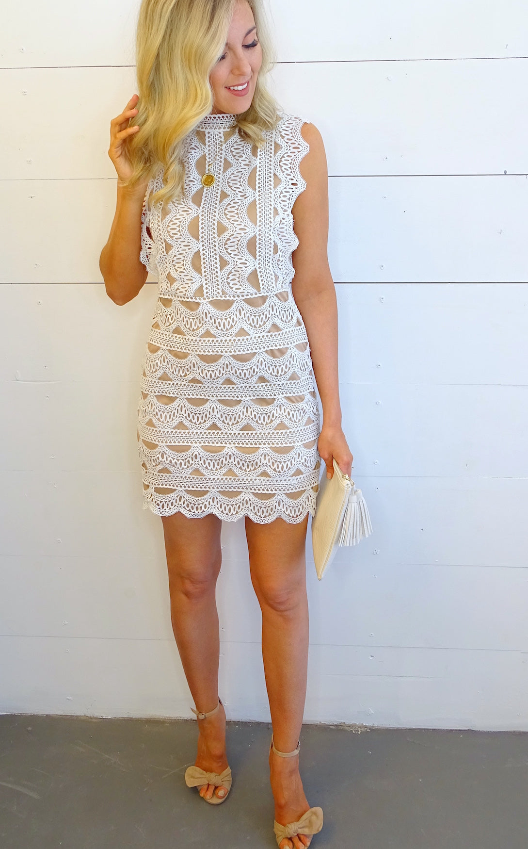 LISEL LACE DRESS