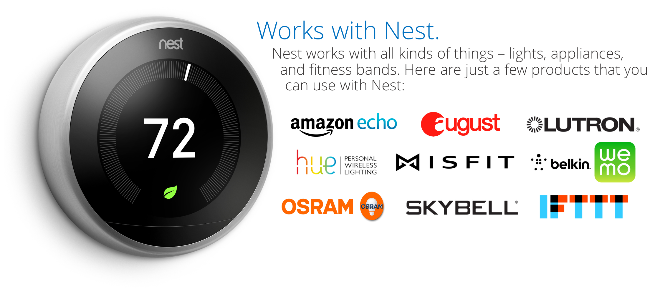 Works With Nest partners
