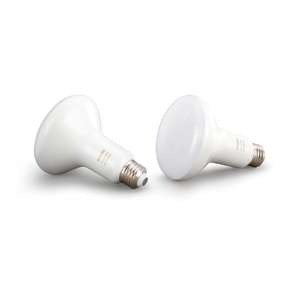 BR30 Philips Hue 8W Flood Light White Ambiance Indoor (2 Pack) image 19496586245