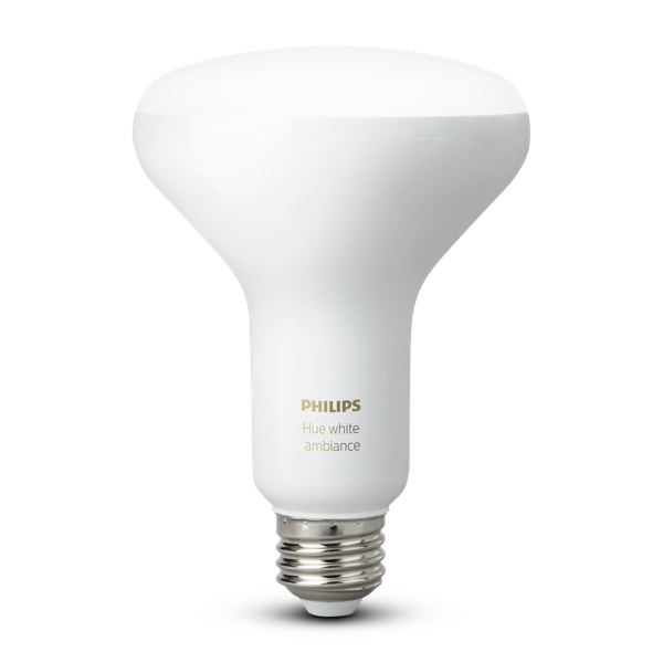 Philips Hue White Ambiance BR30 Single Flood Light image 19496578565