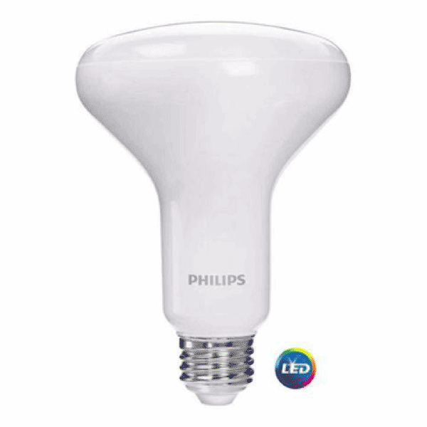 Philips 9w LED Warm/Soft White BR-30 (6-Pack)