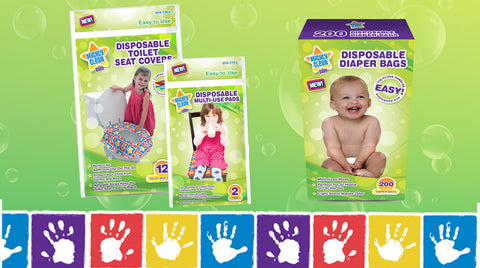 Disposable Infant and Toddler Changing and Potty Solutions
