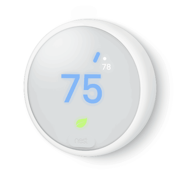 Nest Thermostat E Cooling Image