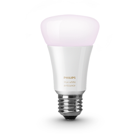 A19 Philips Hue 10W Dimmable White Ambiance Indoor (Single) image 24602860114