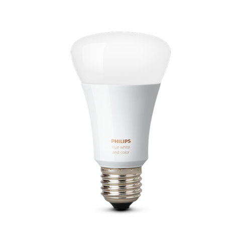 A19 Philips Hue 10W Dimmable White and Color Ambiance Indoor (Single) image 24604375378