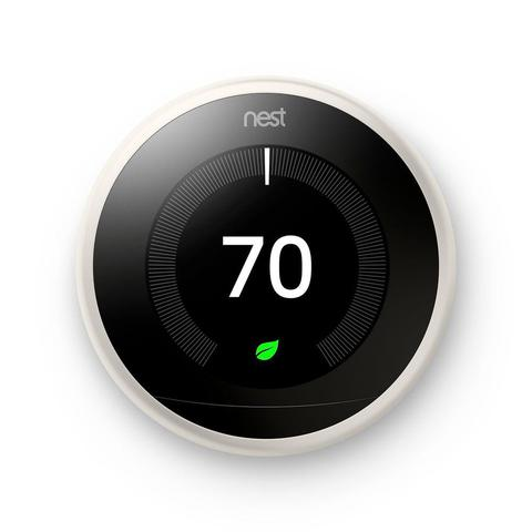 3rd Gen Nest Learning Thermostat - White image 25295767762