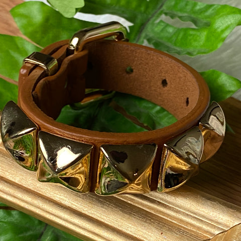 Brown Stud Bracelet