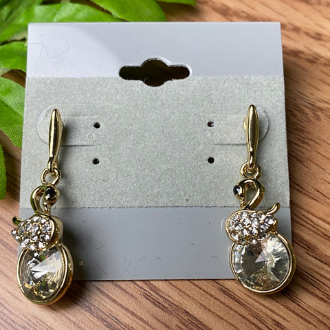 Beautiful Swan Earrings