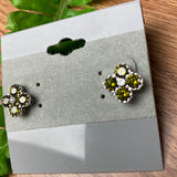 Sweet Green Stud Earrings
