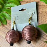 Fun Large Ball Earrings