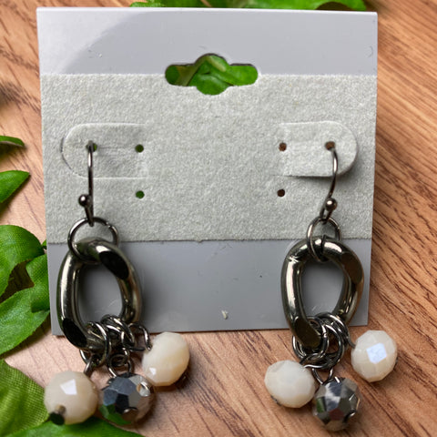 Sweet Dangle Bead Earrings