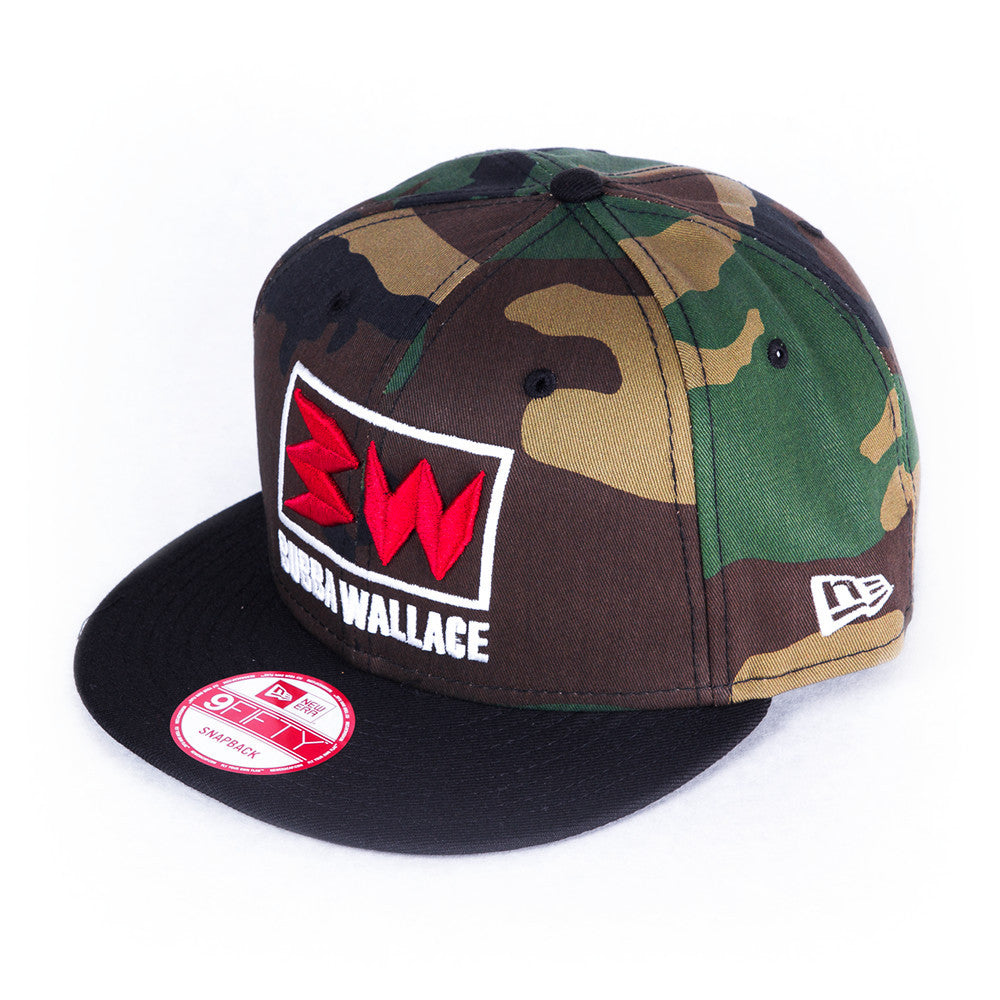 Bubba Wallace Woodland Camo Hat