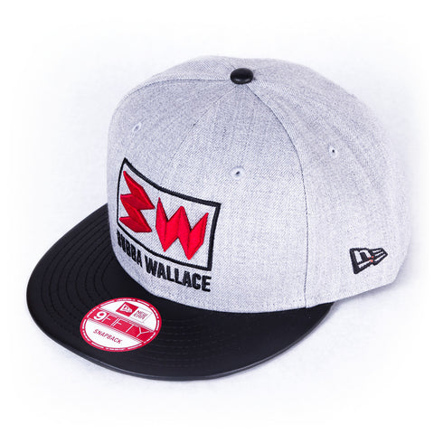 Bubba Wallace Heather Gray Hat