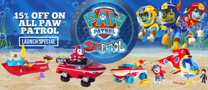 Paw Patrol Launch Special