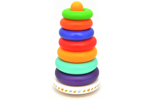 Musical Rainbow Stacking Tower