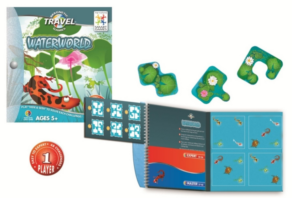 SmartGames Waterworld Magnetic Travel Game