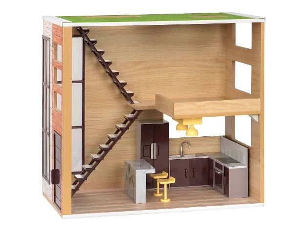 Lori Loft To Love Wooden Dollhouse