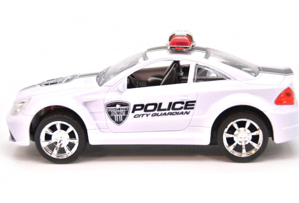 Friction Hot Racing Police Car