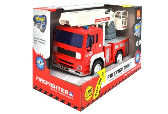 Wanyi Friction Fire Engine Truck