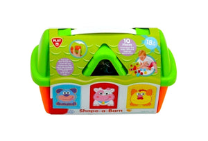 PlayGo Barn Shape Sorter