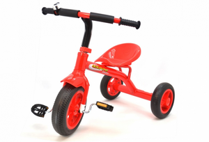 Tricycle Red With Bell