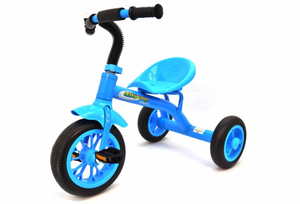 Tricycle Blue With Bell