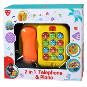 PlayGo 2 In 1/ Piano & Telephone