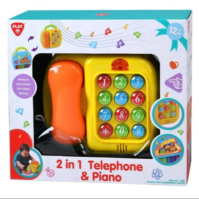 Play Go 2-in-1 Piano & Telephone