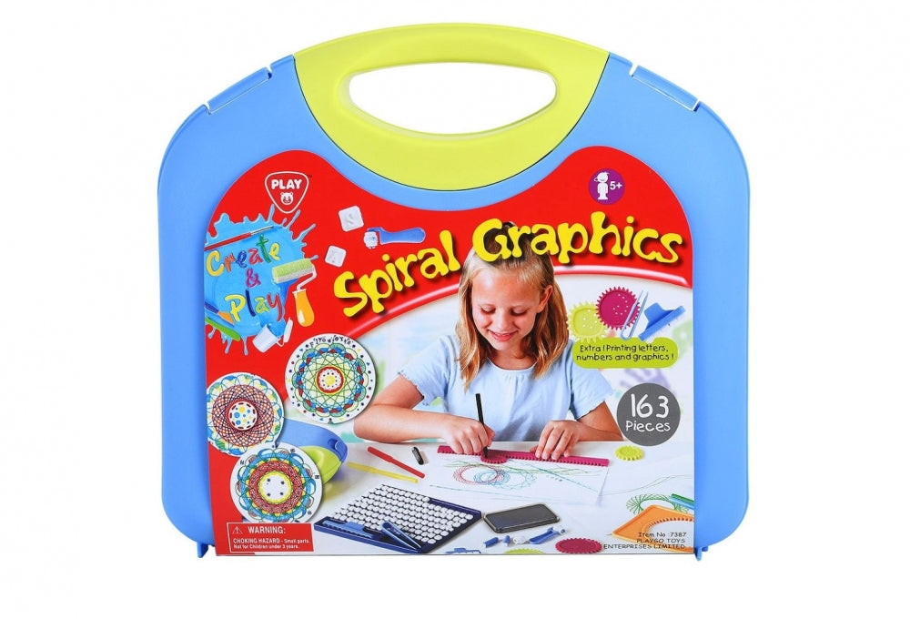 PlayGo Spiral Graphics 163 PCS