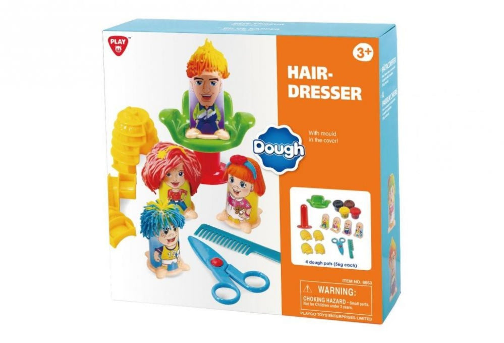 PlayGo Hairdresser Dough Playset