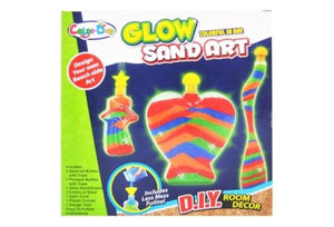 Room Decor Glow Sand Art with 3 Bottles Small