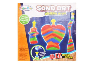 Room Décor Sand Art with 3 Bottles Small