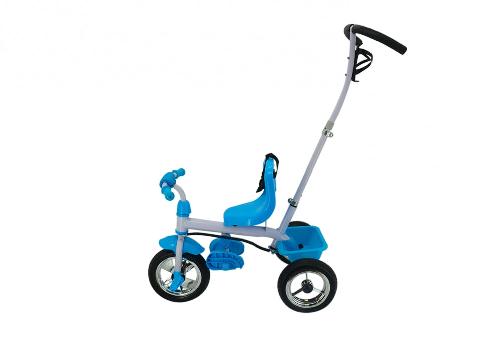 Tricycle With Turning Handle - Blue